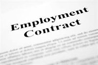 Do you review your employment contracts? -