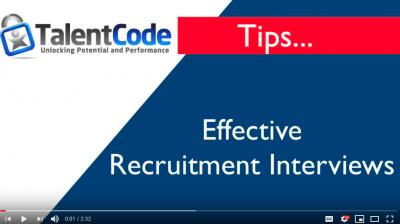 Recruitment Interviews -