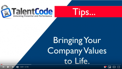 Bring Your Company Values to Life -