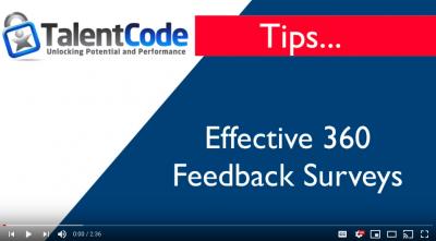 Effective 360 Feedback Surveys -
